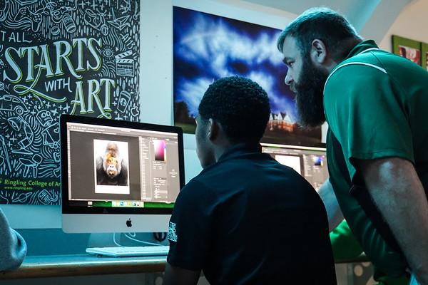 Cardigan's New Digital Arts Media Lab!