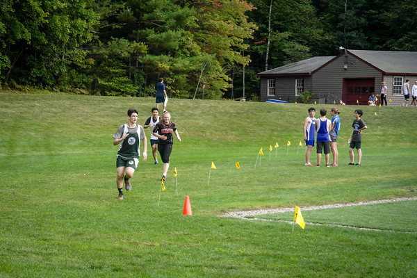 Cross Country Race at Holderness School