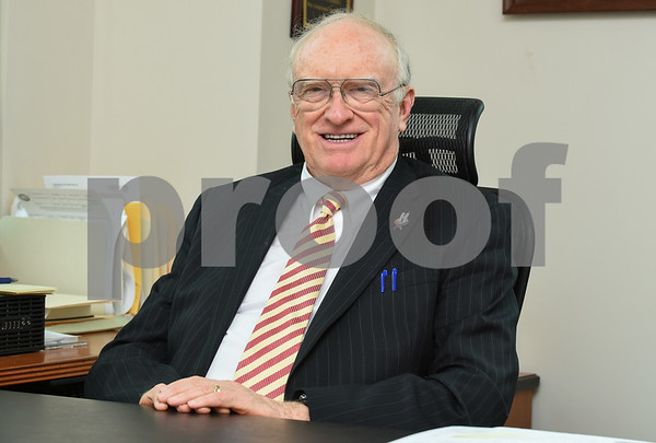 09/21/17 Wesley Bunnell | Staff John Malone, the state's longest serving prosecutor, who is set to retire at the end of this month.