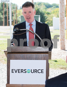 09/28/17  Wesley Bunnell | Staff  Eversource held a ribbon cutting and tour of the Eversource Electric and Natural Gas Outdoor Training Complex in Berlin on Thursday morning. Chairman, President and CEO of Eversource Jim Judge.
