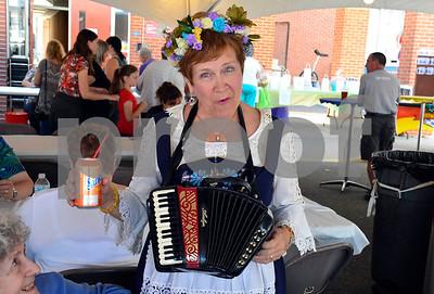 9/16/2016 Mike Orazzi | Staff Anita Siarkowski during Immanuel Lutheran's one day German Festival Saturday in Bristol.