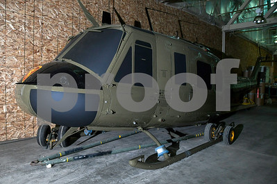 9/14/2017 Mike Orazzi   Staff A new monument on Memorial. Blvd with include a Huey helicopter and honor Vietnam War veterans is being stored at RGD Technologies Corporation in Bristol.