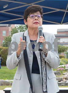 09/14/17  Wesley Bunnell   Staff  A rally was held at CCSU on Thursday afternoon in support of DACA. the Deferred Action for Childhood Arrivals policy was established by the Obama administration in June 2012 and recently rescinded by the Trump administration. CCSU President Dr. Zulma Toro.