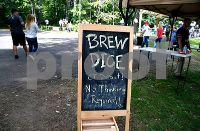 9/2/2017 Mike Orazzi | Staff The 2nd CT Hops for Hope beer festival held at Falcon Field in New Britain Saturday.