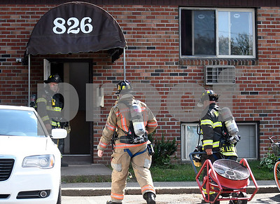 9/7/2017 Mike Orazzi | Staff Bristol firefighters while responding to a report of food on stove on Pine Street in Bristol Thursday afternoon. No injuries were reported.