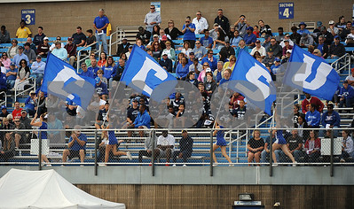 9/9/2017 Mike Orazzi | Staff CCSU's during Saturday's game with Fordham in New Britain.