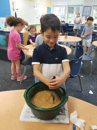 Stirring the Pot in First Grade