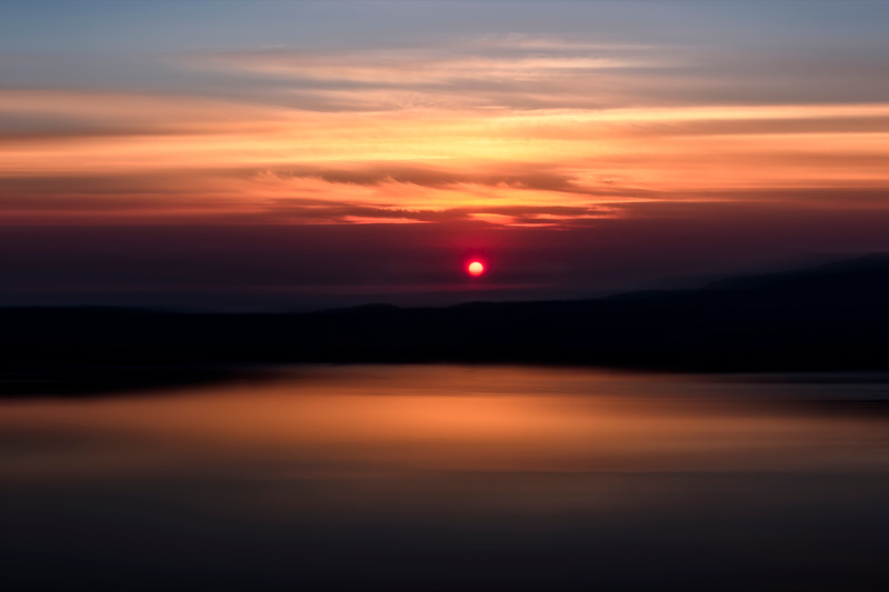 Sunrise Crater Lake - Wide