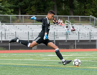 09/17/18  Wesley Bunnell | Staff  Bristol Eastern soccer defeated New Britain 2-0 on Monday afternoon at Bristol Eastern High School. Bristol Eastern goal keeper Nate Diloreto (1).