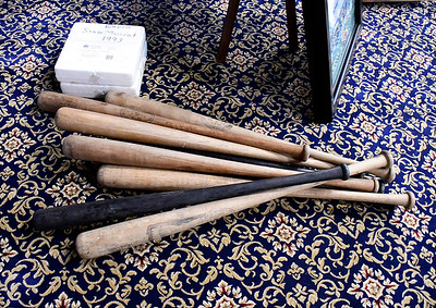 9/13/2018 Mike Orazzi | Staff Some of the items for sale this Saturday at the Bristol Historical Society Auction.