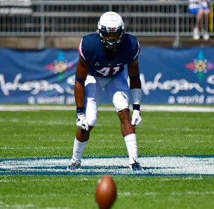 9/15/2018 Mike Orazzi | Staff UConn's Marshé Terry (41) during Saturday's win over the University of Rhode Island in East Hartford.