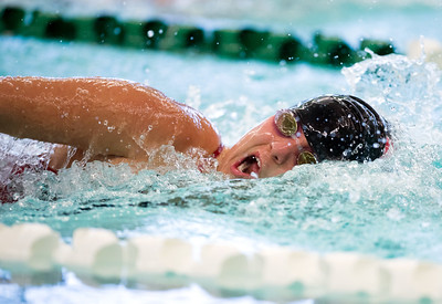 09/18/18  Wesley Bunnell | Staff  Berlin girls swimming defeated Maloney High School 92-83 on Tuesday afternoon at Maloney High School. Madeline Palmese finished in first place in the 100 free.