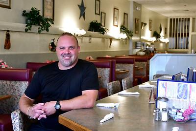 9/19/2018 Mike Orazzi | Staff Frank Loukoumis at Frank's Restaurant in Bristol.