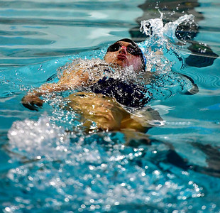 9/25/2018 Mike Orazzi | Staff Bristol Eastern's Chelsea DeMarest during Tuesday's swim meet with Windsor in Bristol.
