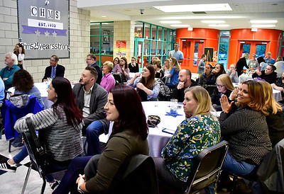 9/25/2018 Mike Orazzi | Staff The 25th Anniversary Celebration at the Chippens Hill Middle School Tuesday evening.