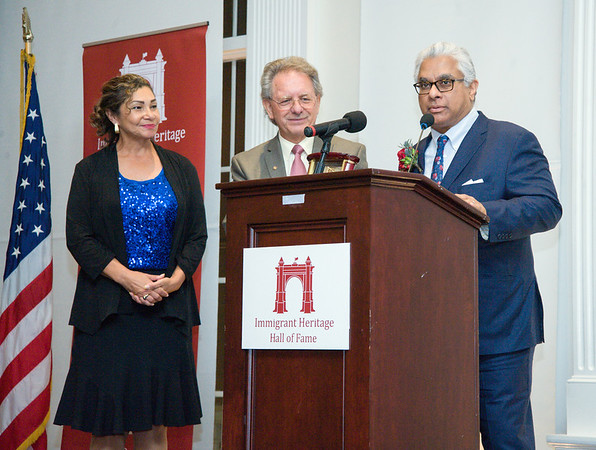 09/27/18 Wesley Bunnell   Staff The Immigrant Heritage Hall of Fame 2018 Gala and Induction Ceremonies was held on Thursday night at The Aqua Turf Club. Inductee Adnan Durrani, R.