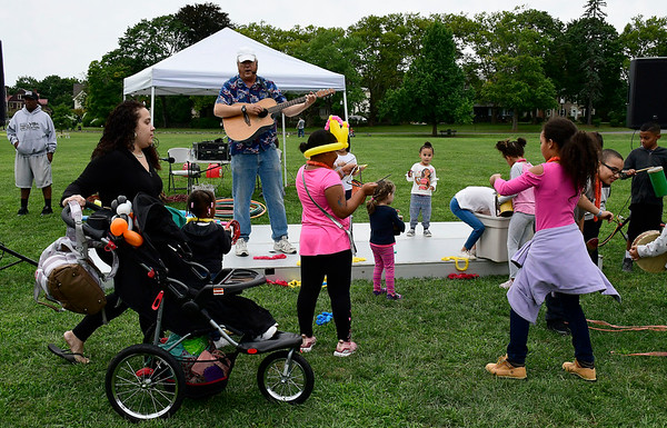 9/8/2018 Mike Orazzi | Staff Music with T-Bone during Main Street USA held in New Britain's Walnut Hill Park Saturday.