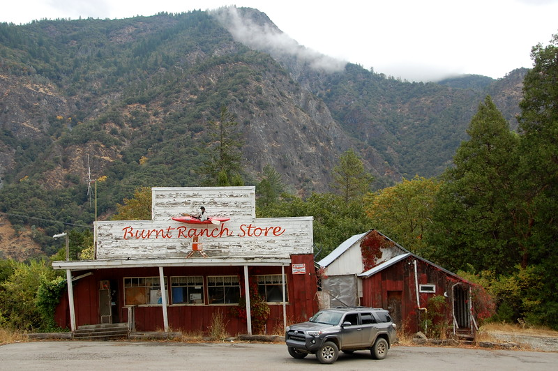Abandoned Burnt Ranch Store, Burnt Ranch, Hwy 299.