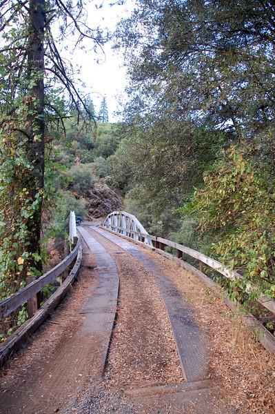 Old bridge on Ponderosa Way, near Chico.