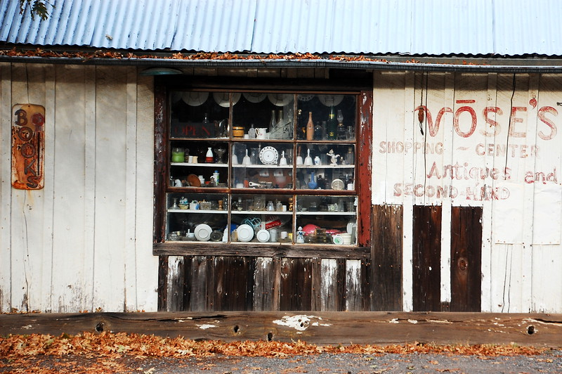 Old store on Cohasset Ridge Rd, near Chico.
