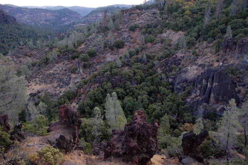 View of the Deer Creek Valley, from Ponderosa Way.