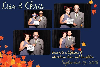 ShutterBoothABQ photobooth photos from the wedding at Casas de Suenos