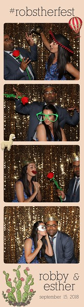 ShutterBooth providingthe FUN at Esther and Robby's wedding.