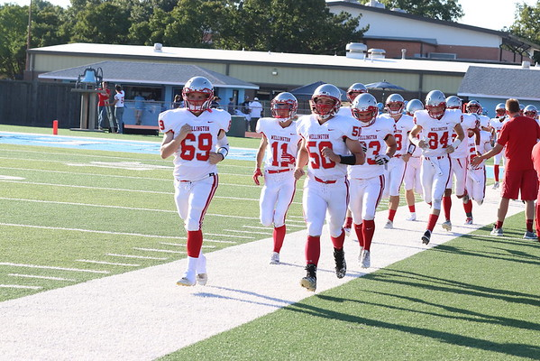 WHS FOOTBALL @ Clearwater  091418