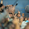 Fans cheer at Allianz Field in St. Paul on Wednesday, Sept. 25, 2019. The United defeated Kansas City 2-1 to earn a spot in the playoffs.