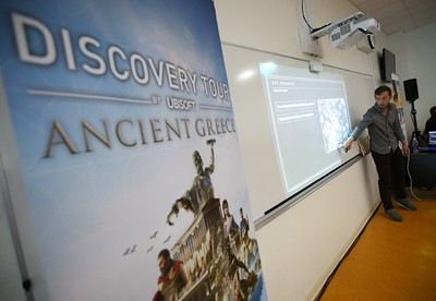 Discovery Tour: Ancient Greece Classroom Event