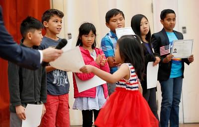 Kids Citizenship Ceremony