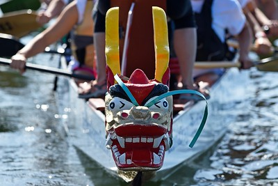 Participants return to the dock after competing during the 24th Annual Northern California International Dragon Boat Festival at Lake Merritt in Oakland, Calif., on Saturday, Sept. 28, 2019. The event is presented by the California Dragon Boat Association. Hundreds of participants from around the country compete in 95 races while paddling in 40-foot dragon boats during the two day event. (Jose Carlos Fajardo/Bay Area News Group)