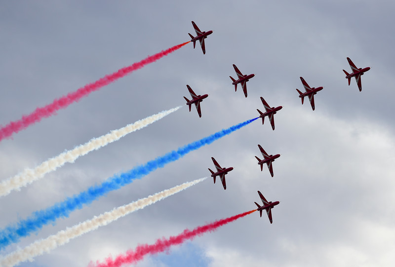 Royal Air Force Red Arrows North American Tour