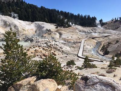 Overview Saturday of Bumpass Hell, in Lassen Volcanic National Park. (Steve Schoonover -- Enterprise-Record)