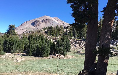 The Bumpass Hell trail in Lassen Volcanic National Park offers views of Lassen Peak, and also vistas to the south. (Steve Schoonover -- Enterprise-Record)