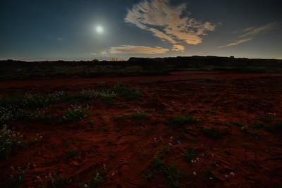"""""""Kings Canyon, Moonset, Pre-dawn."""""""