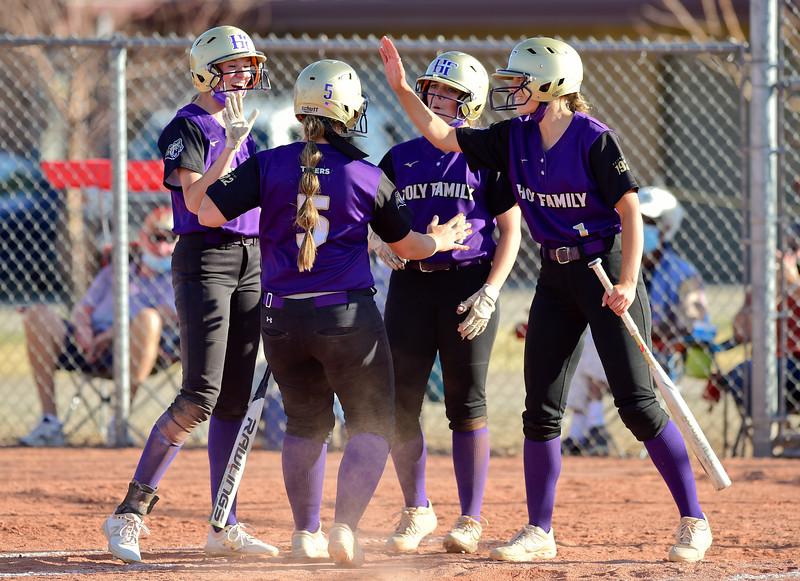 Holy Family Mead Softball