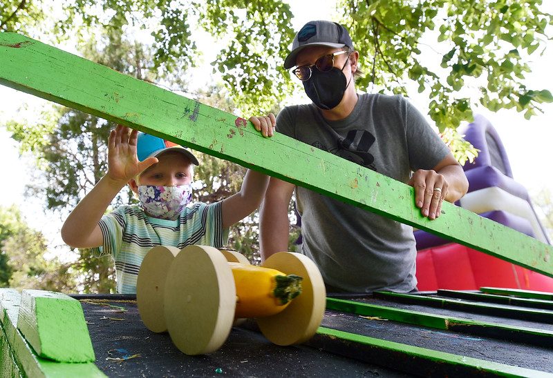 Great Zucchini Race at the Boulder Creek Hometown Festival