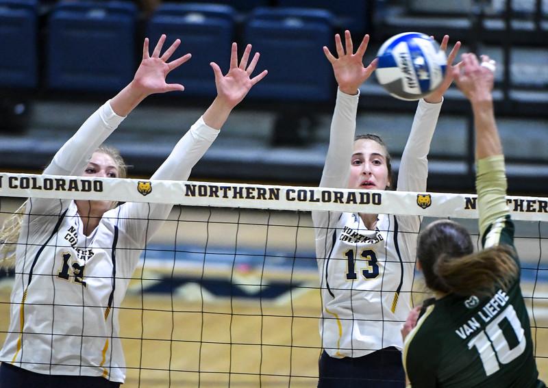 Colorado State Northern Colorado Volleyball