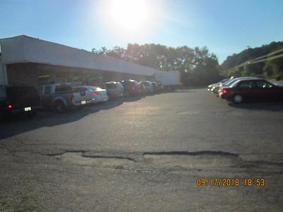FB full parking lot