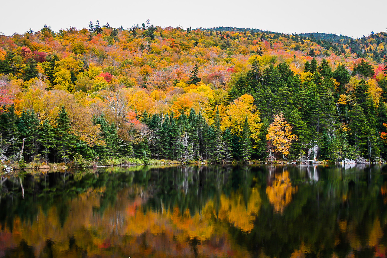 Fall Reflections, New Hampshire