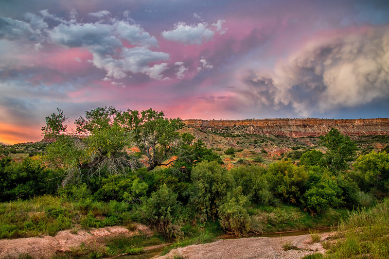 Fortress Cliff, Palo Duro Canyon