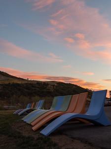 Ski Beach Sunrise