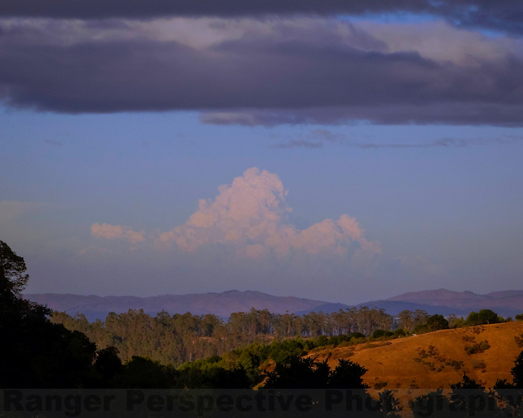 King Fire's Pyrocumulus Cloud from Sky Oak Road