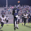 Cuthbertson WR, JT Cauthen, leaping for pass reception against Forest Hills. Photo courtesy: Jamey Ward/ UnioNCounty SportsPix