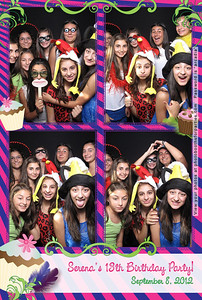 Serena's 13th Birthday Party