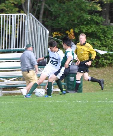 9.25.13 JV Soccer vs. New Hampton