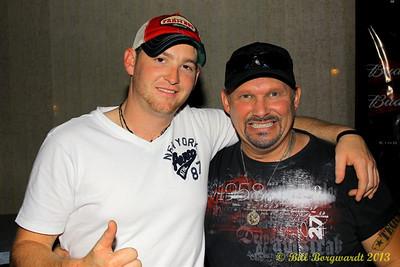 Tristan Horncastle and Randy J Martin of Karizma Entertainment at LBs
