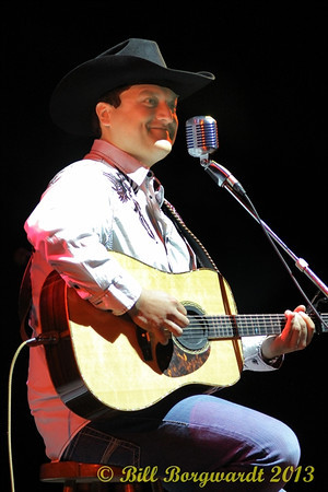 September 10, 2013 - Trevor Panczak opens for Don Williams at Jubilee Auditorium