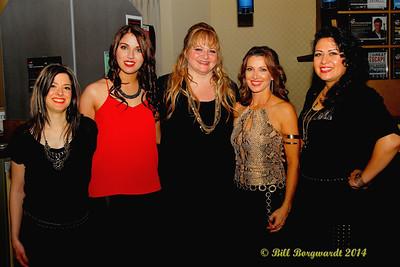Shila, Karen, Shawna, Danita & Dahlia - Dirt Road Angels CD release - Festival Place